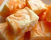 1 1/4 pounds orange creamsicle fudge