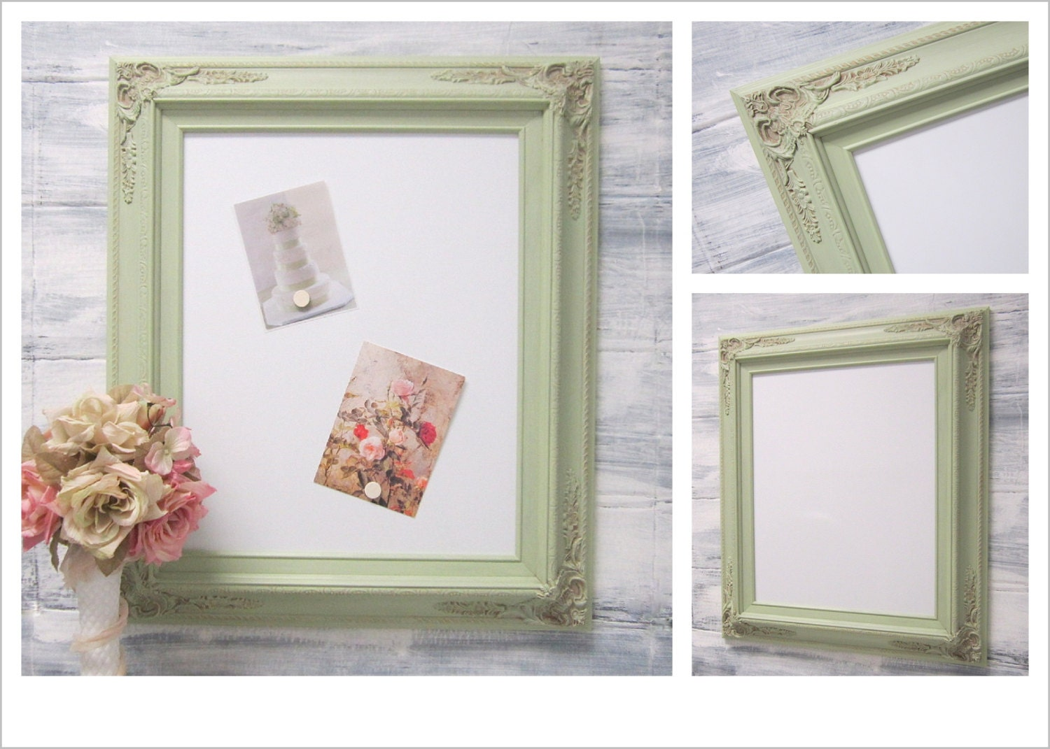 Decorative Dry Erase Board For Sale Magnetic Shabby Chic Girls