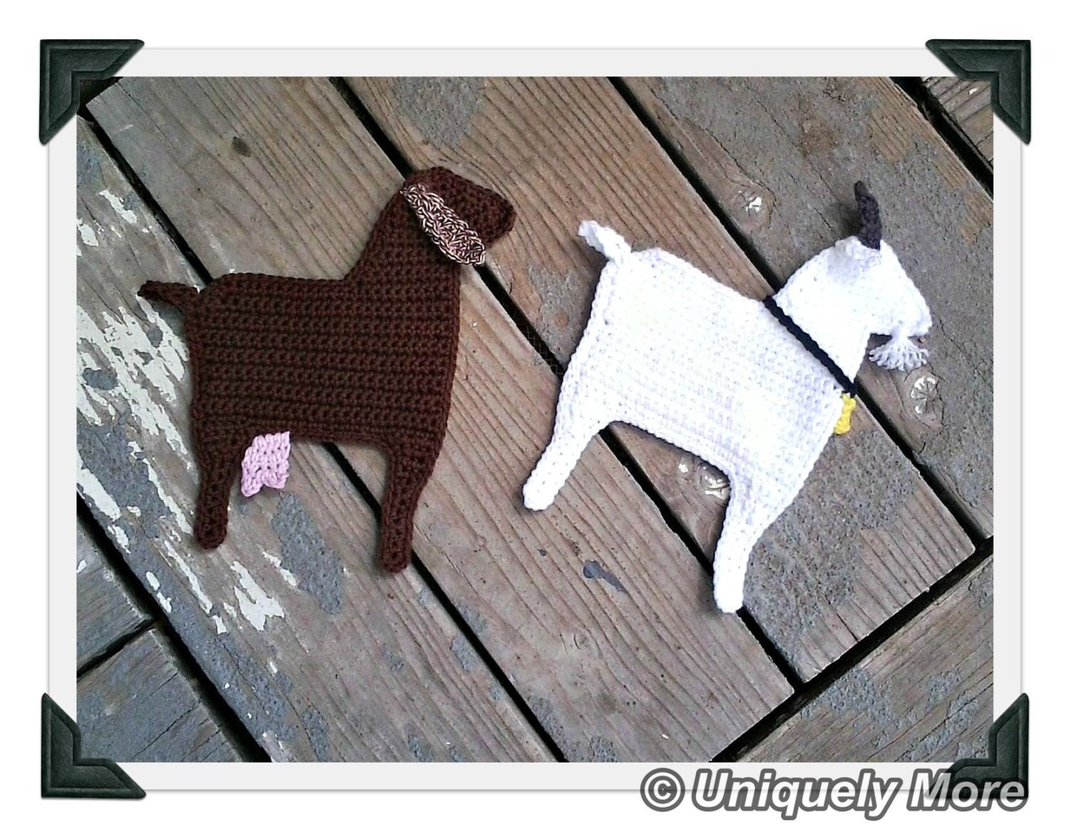 Farm Animal Kitchen Decor Crochet Patterngoat Potholderinstant Downloadgoat Decorgoat