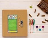 Life is Messy Notepad . Mayi Carles