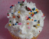 Birthday Cake Cupcake Candle