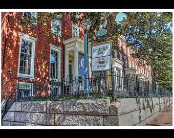 Linden Row Inn - Richmond VA - Childhood Home Of Edgar Allan Poe - Richmond Wedding Venue-  Fine Art Photography Prints by Dave Lynch