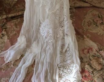 whimsical boho veil