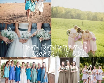 Reserved listing for Autumn-7 Short Two Toned Dresses-Trestles Sand/Cambria Emerald