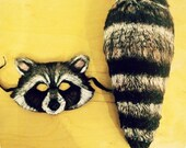 Tail Only Rocket Raccoon Inspired Tail Costume Handmade