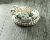 Wedding Jewelry Actual Handwriting Memorial Wrap Bracelet