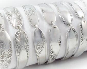 6 Bridesmaids Bracelets, FREE ENGRAVING, Set of 6, Bridesmaids Gifts, Bridesmaid Jewelry, Spoon Bracelet, Spoon Jewelry, Vintage Wedding