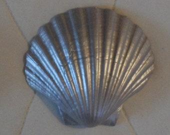 Decorative Shell Ornament - Siver