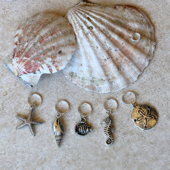 Marine Life Stitch Markers