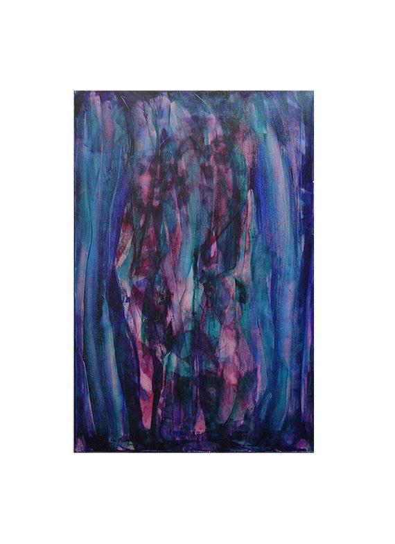 Enigma, Original Modern Art Textured Abstract Painting by Lisa Strassheim