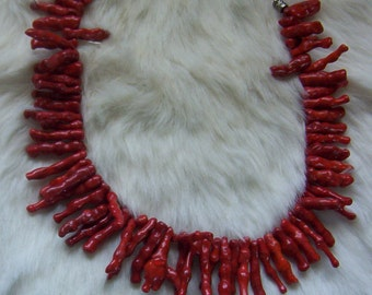 Pacific Branch Coral Necklace