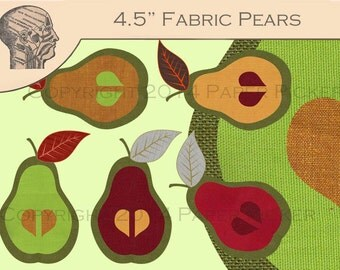 Fruit Clip Art Fall Pears Clipart Graphics Instant Download Printable Art Commercial Use Images Graphics