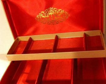 Vintage Cream Colored Jewelry Box