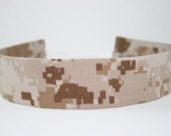 MARPAT USMC Adult Headband Military Camo