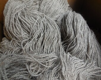 Farm Fresh 70/30 Jacob Wool and Mohair Worsted Weight Yarn, approx 4 oz/250 yards