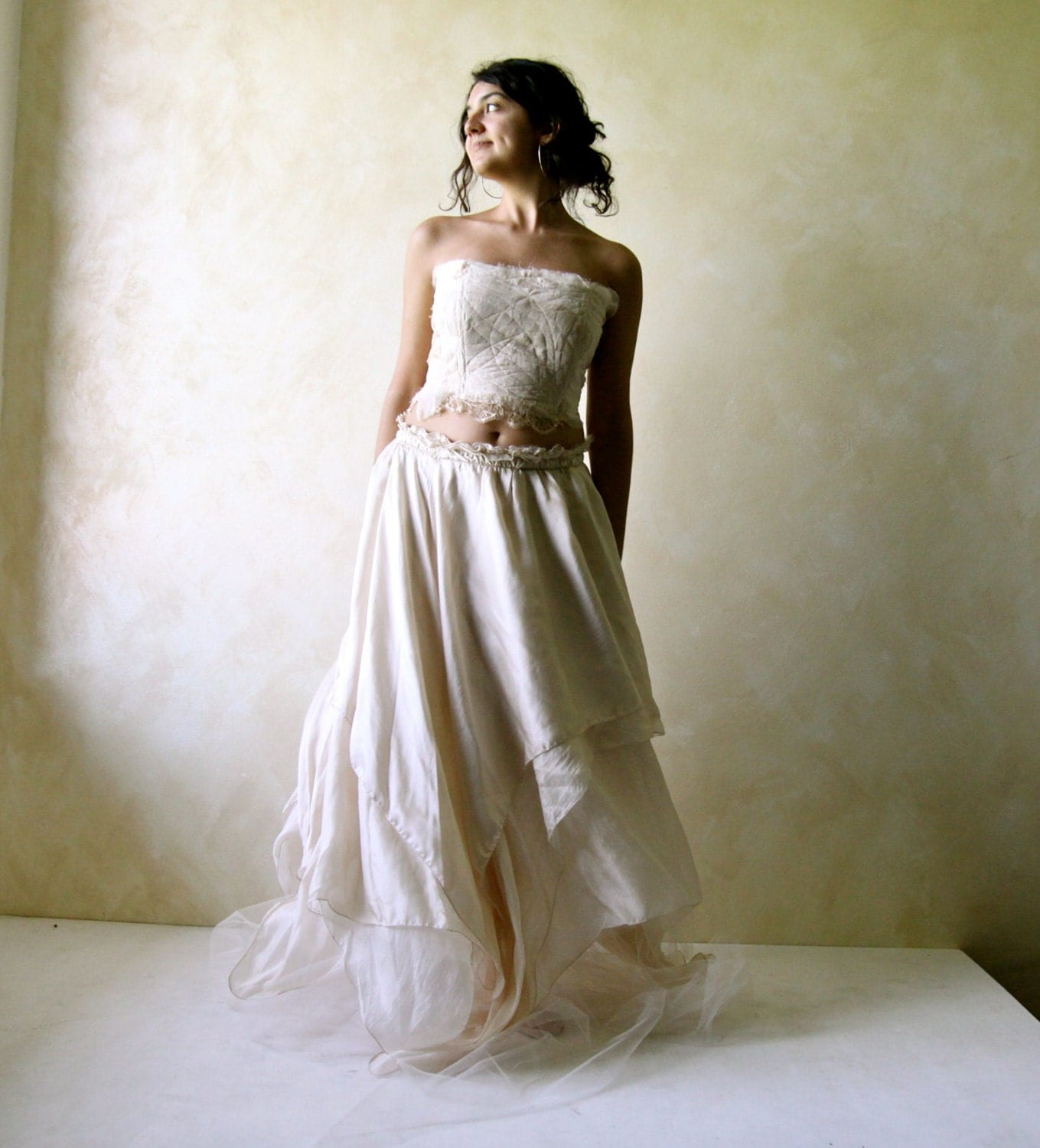 Boho Wedding Dress S Perth : Boho wedding dress fairy hippie