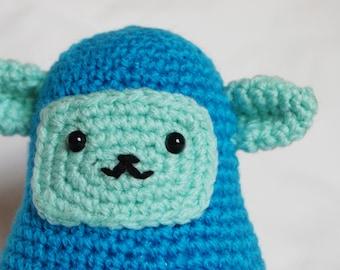 Crochet Amigurumi ~ Terry the Cute Blue Bear Creature