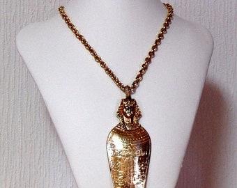 Egyptian King Tut Pendant Momento from artifact tour, 10 percent distount from 35.00