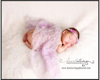 Mohair Wrap, Mohair blanket, Newborn  Wrap,  Newborn crocheted Mohair Wrap, Newborn Photography Prop