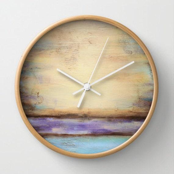 beach decor wall clock. Black Bedroom Furniture Sets. Home Design Ideas