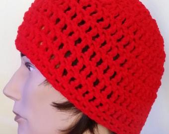 Crocheted Skull Cap/Tobagan/Beanie