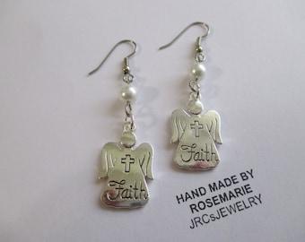 Sale Angel Of Faith Earrings