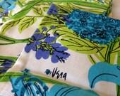 Four vintage Vera napkins