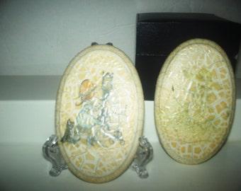 Vintage  egg shape pictures