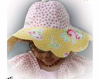 Sunhat Sun Hat - Daisy Doodle Sun Hat PDF Pattern - Infant through Adult size