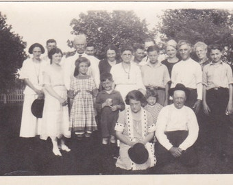 Vintage Photograph - Family Gathering - Vintage Photo, Vernacular, Found Photo (HHH)