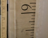 Antique-Style Measuring Tape Fabric: make your own height chart, curtains, etc. FABRIC ONLY