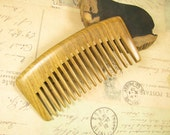 Fragrant Verawood Wide Teeth Hair Care Comb