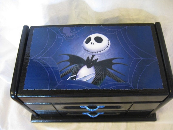 Disney's Nightmare Before Christmas Upcycled Jewelry & Trinket Box ...