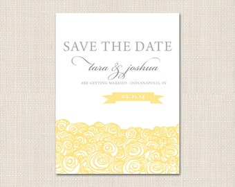 BOLD BLOOMS Save the Date - DEPOSIT