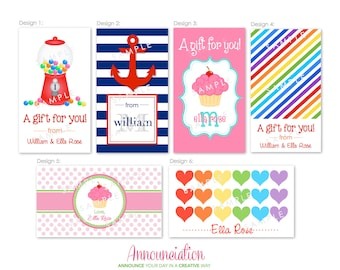 Personalized Gift Tags (20)