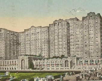 The Ambassador (Hotel) ATLANTIC CITY New Jersey 1921 P Sander Publishing Vintage Postcard