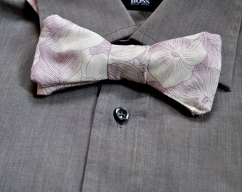 Hand-Made Alto Figaro Bow Tie in Bamboo