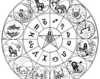 Zodiac herb kit for Scorpio (Oct 23 - Nov. 21) herb blends, recipes, bath salts, herb tea