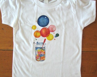 Bubbles Kids Tshirt