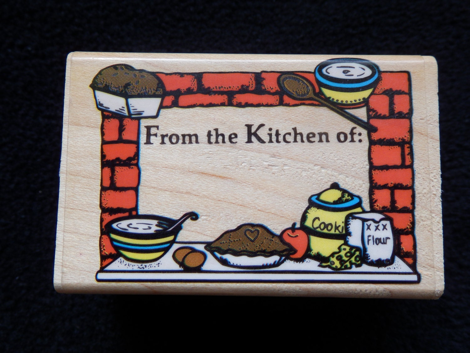 From The Kitchen Of Wm Rubber Stamp 1