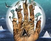 Stargate // Signed A3 print