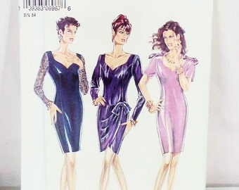 Sexy Sweetheart Neckline Dress Sewing Pattern - New Look  6967, Size 8 to 18, NOS, Never Used