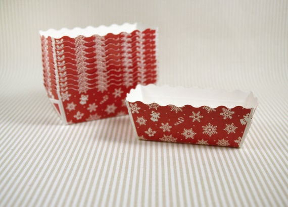 Christmas Paper Baking Pans Bake And Give 12