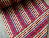 Guatemalan Fabric in Gorgeous Bright Stripes