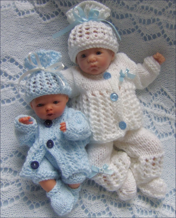 Dolls Knitting Pattern Download PDF Pattern Reborn Dolls