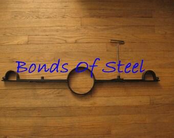 Steel Yoke Bondage BDSM Dungeon Bonds of Steel SM Master Slave Bound Mature