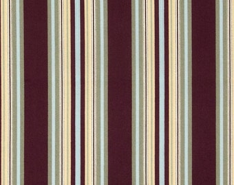 Amy Butler - Gypsy Caravan - Hammock Stripe in Wine- Cotton Quilting Fabric BTY