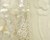 Chandelier Earring, Bridal Party Earrings