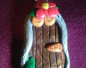 Fairy Door Pendent~ cute little faerie garden door~ Free Shipping