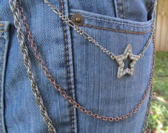 Jean Jewelry Jean Chains Star Charm  J 15